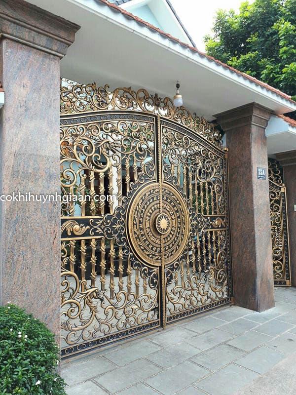 Cửa cổng biệt thự đẹp 003