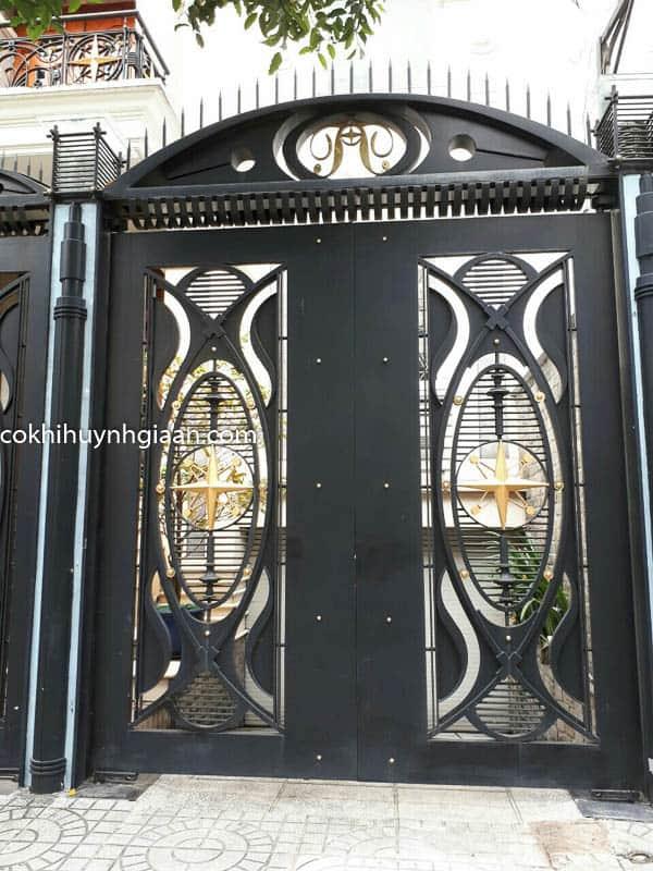 Cửa cổng biệt thự đẹp 007