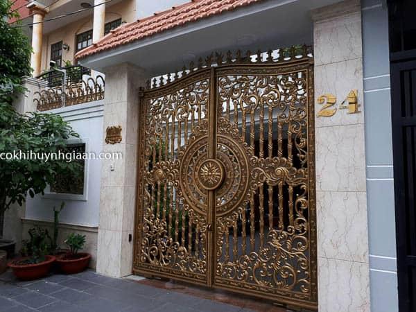 cửa cổng đẹp mới nhất