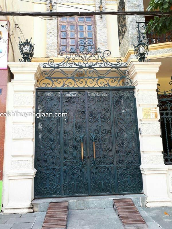 cửa cổng đẹp hiện đại 2017
