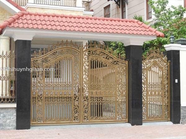 mẫu cổng biệt thự độc đáo