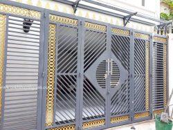 Cửa cổng 4 cánh đẹp