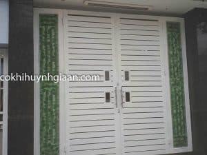 cửa cổng 2 cánh đẹp