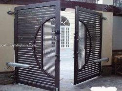 cổng 2 cánh tự động