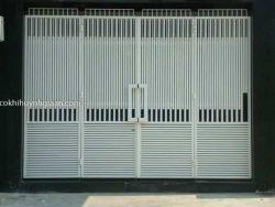 cửa cổng sắt hộp đẹp