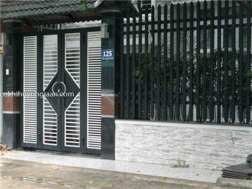cổng 4 cánh hiện đại
