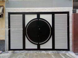 cửa cổng sắt đẹp hiện đại