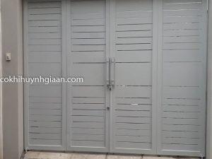 cửa cổng sắt đẹp đơn giản