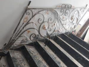 Cầu thang sắt uốn mỹ nghệ
