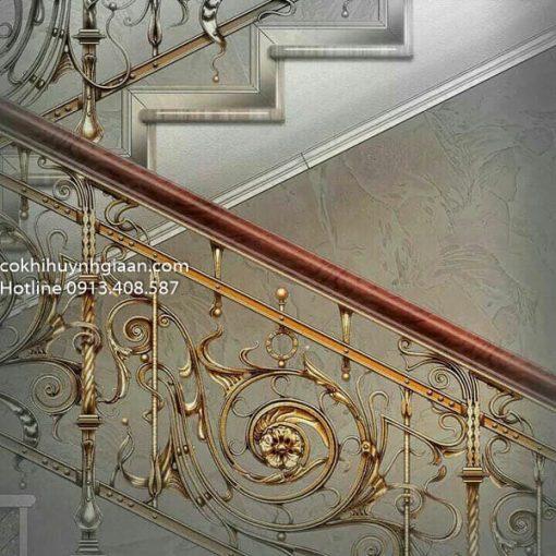 cầu thang sang trọng