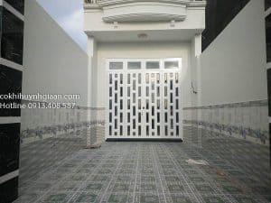 cửa đi pano đẹp
