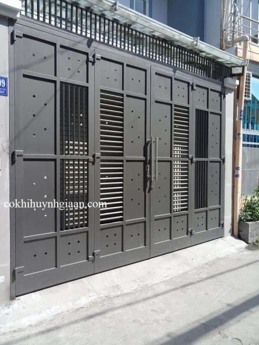 cửa sắt đẹp hiện đại