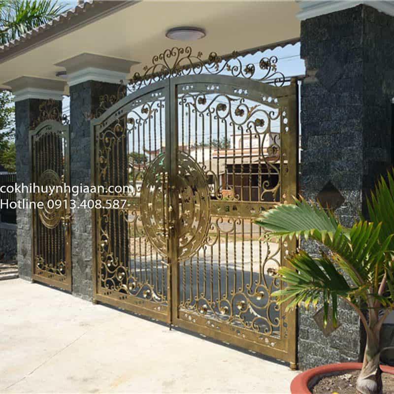 mẫu cửa cổng biệt thự đẹp