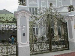 cửa cổng biệt thự đẹp