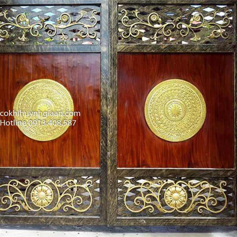 cửa cổng biệt thự sang trọng