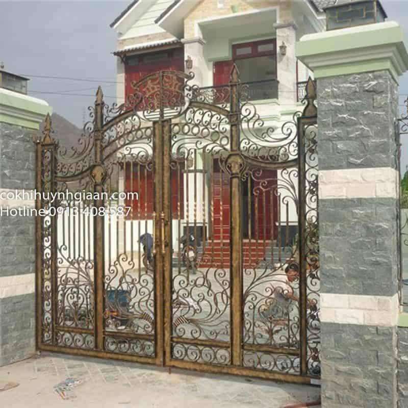 cửa cổng mỹ thuật