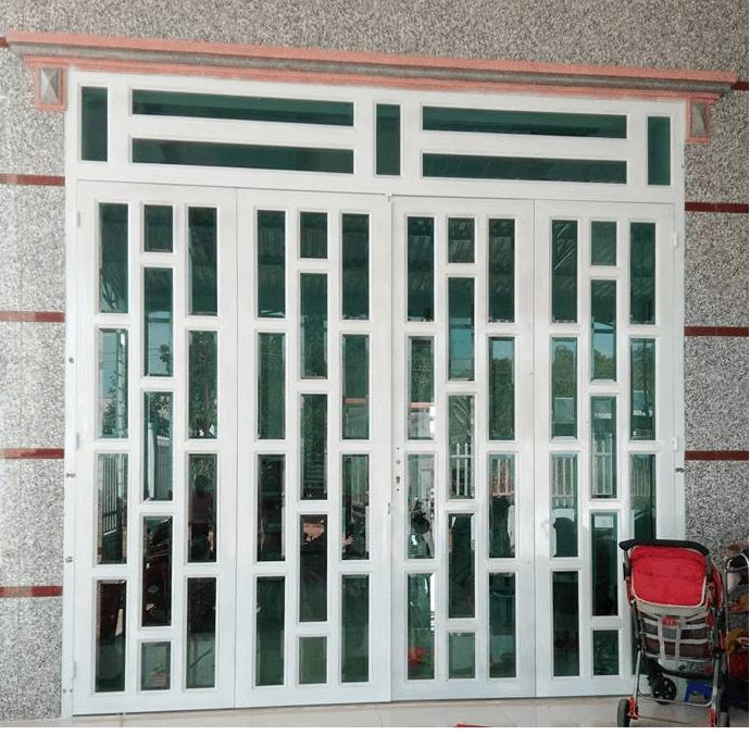 cửa sắt pano đẹp