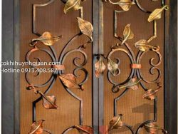 mẫu cửa sắt mỹ thuật đẹp