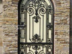 cửa sắt đẹp uốn mỹ thuật