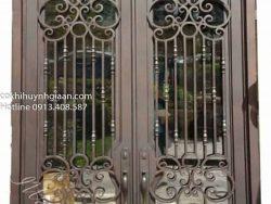 mẫu cửa sắt đẹp