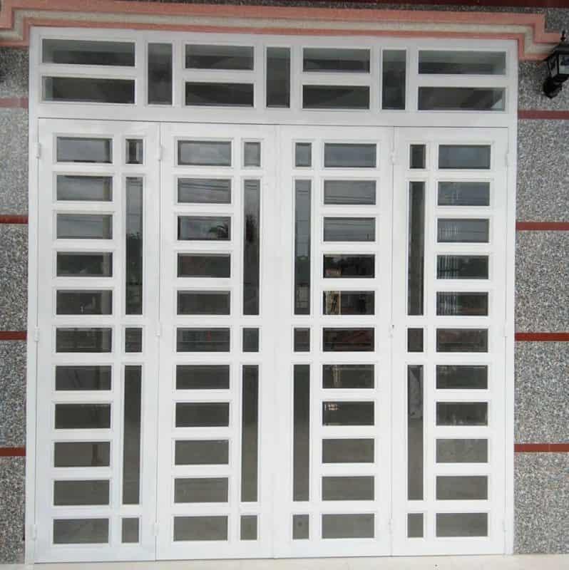mẫu cửa sắt kính đẹp