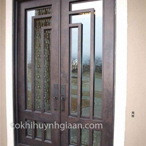 cửa sắt đơn giản