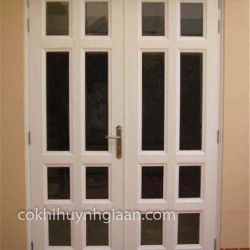 cửa sắt kính 2 cánh