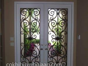 cửa sắt đẹp cho biệt thự