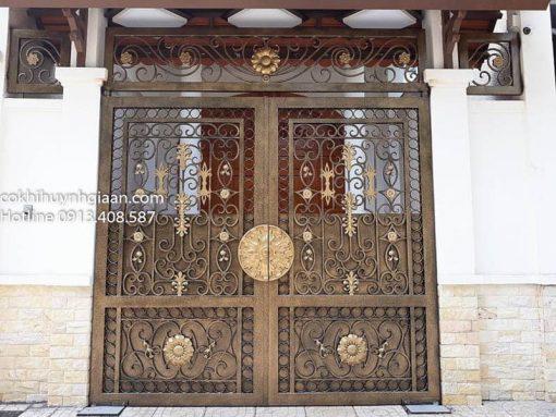 cửa cổng mỹ thuật hiện đại