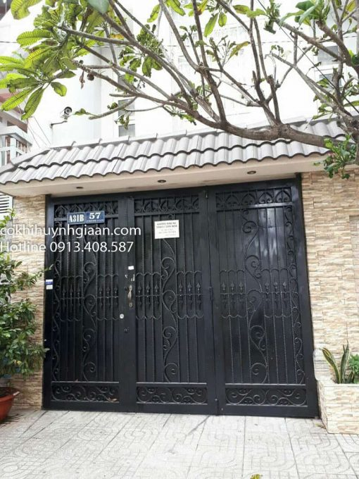 cửa cổng kín đẹp