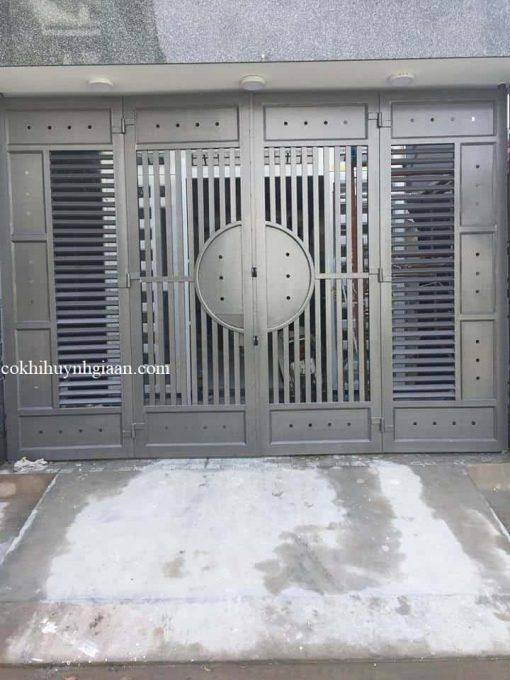 của cổng sắt đẹp đơn giản