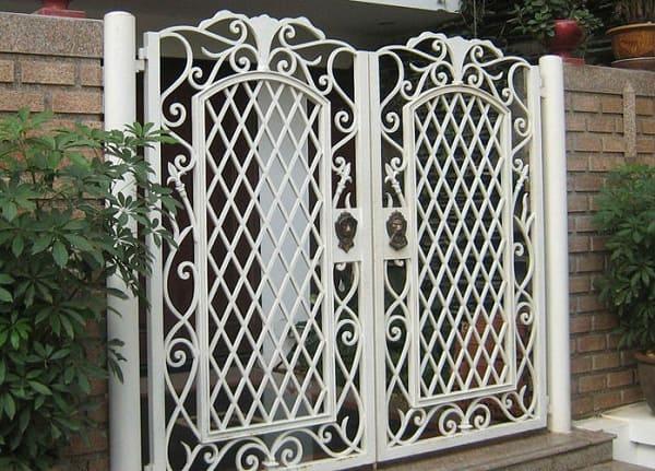 cổng sắt uốn đẹp 003
