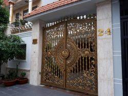 cổng mỹ thuật đẹp