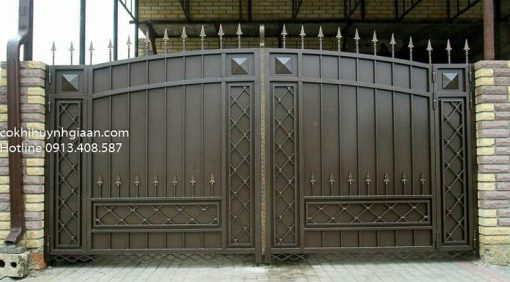 cổng sắt đẹp