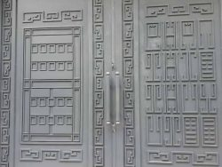 cổng sắt kín đẹp