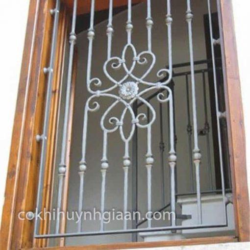 khung cửa sổ sắt mỹ thuật đẹp