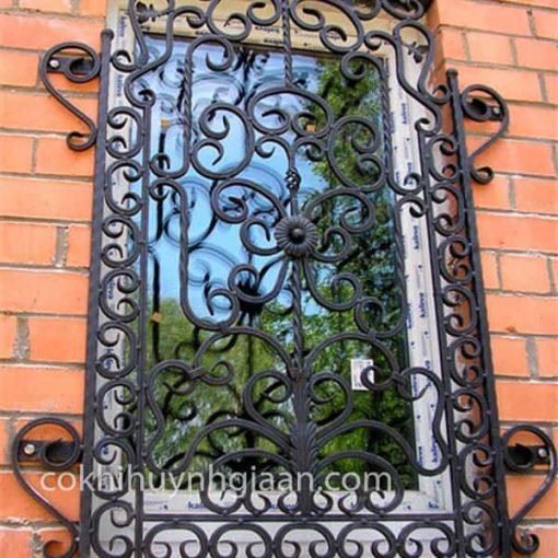 khung sắt cửa sổ đẹp