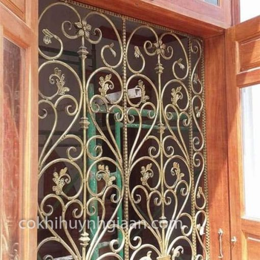 cửa sổ sắt uốn đẹp