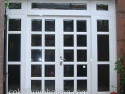 cửa sắt kính đẹp hiện đại