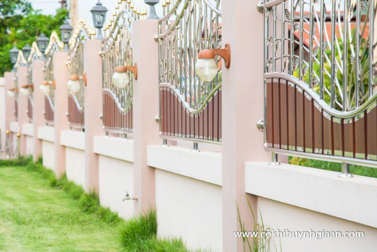 hàng rào inox HRI001