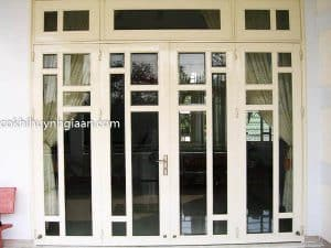 cửa sắt kính đẹp