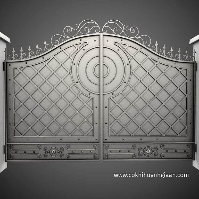 Cổng nhà đẹp 3D
