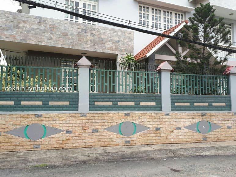 Mẫu hàng rào nhà thái