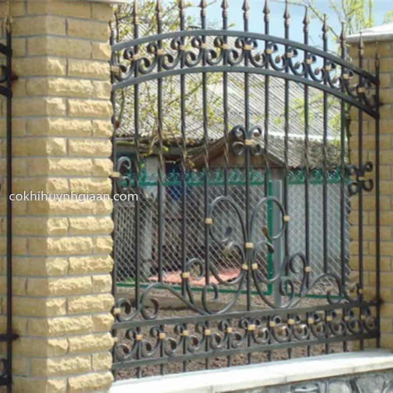 Hàng rào sắt uốn đẹp