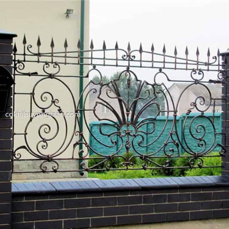 Hàng rào sắt đẹp mẫu lạ & độc đáo