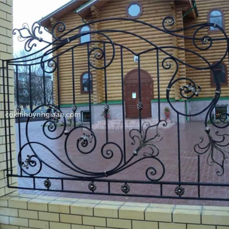 Hàng rào sắt mỹ thuật đẹp 94