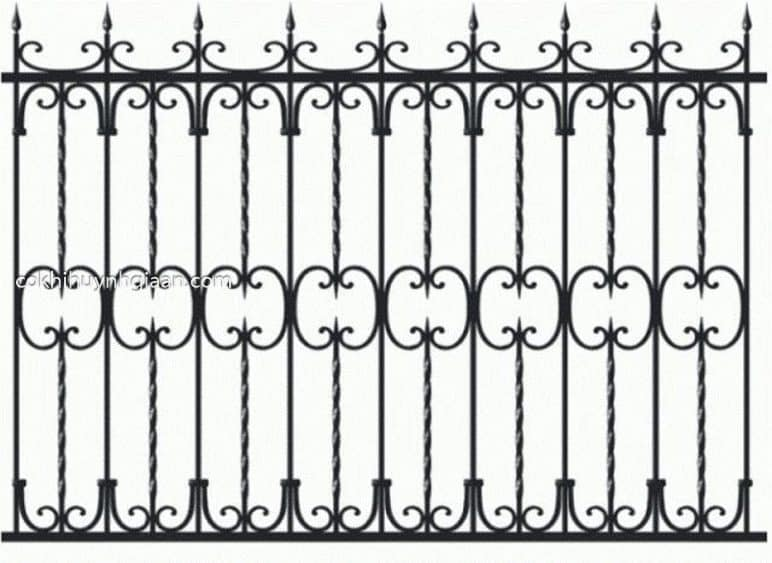Hình ảnh hàng rào sắt