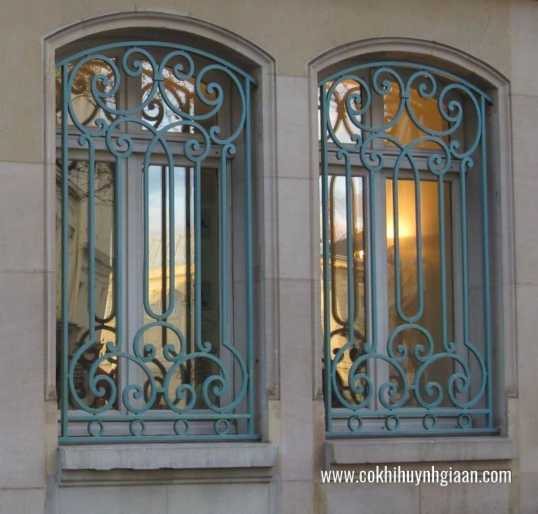 mẫu song cửa sổ sắt đẹp