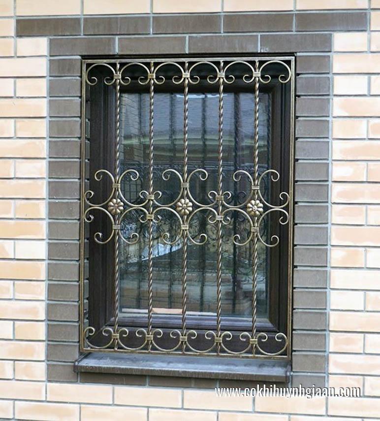 Mẫu song cửa sổ đẹp theo kiến trúc Châu Âu