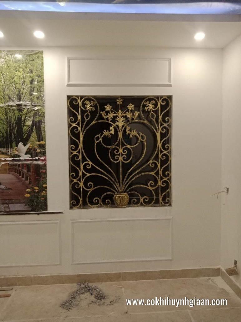 hình ảnhmẫu hoa sắt cửa sổ đẹp